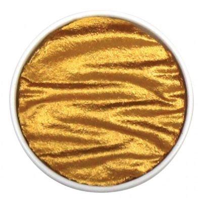 FinetecアーティストMica水彩パンRefillsパール色1.2` (チベットゴールド) 2Refills