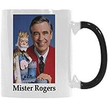 Mister Rogers Coffee Mug Funny Mug Morphing Changing Color Heat Reveal Tea Cup 11oz
