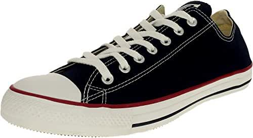 Converse Chuck Taylor All Star Core Low Top Canvas Black Ankle-High Rubber Fashion Sneaker - 7.5M / 5.5M