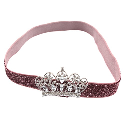 PanDaDa Infant Rhinestone Princess Headband