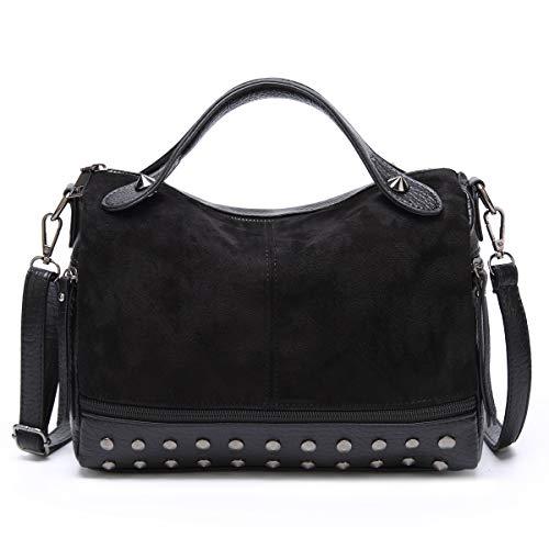 Boston Bag Black Handbag - 9