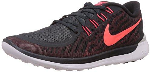 NikeFree 5.0 - zapatillas de running Hombre Anthrct/Brght Crmsn-Unvrsty Rd