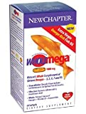 New Chapter Wholemega 1000mg, 60 softgels (2 Pack) [Health and Beauty]