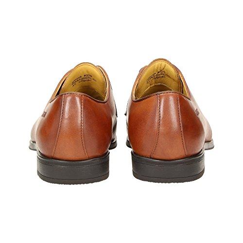 Zweigut Hamburg- Smuck # 270 Mens Business In Pelle Scarpe Comfort-king Derby Sneaker-feeling Cognac