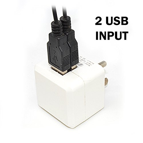 Israel 2 USB Travel Charger by Orei for All iPhone, iPad, Samsung Galaxy, Android, HTC One, Motorola - http://coolthings.us