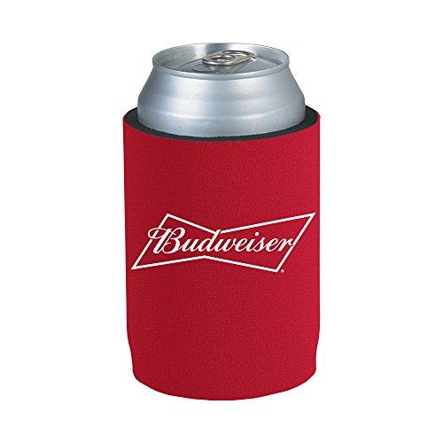 Officially Licensed Budweiser Drink Can Holder Neoprene Beer Huggie Cooler Sleeve (1)