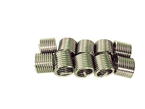 Delisert Type Free Running M8X1.0X1D 304 Stainless Steel Thread Insert 1000pcs by Delisert (Image #2)