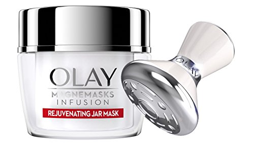Skin Rejuvenating Face Treatment - Olay Magnemasks Infusion - Korean Skin Care Inspired Deep Hydration, Rejuvenating Face Mask for Fine Lines & Sagging Skin - Starter Kit