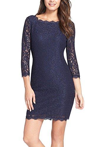 Berydress Sleeve Short Cocktail Dress