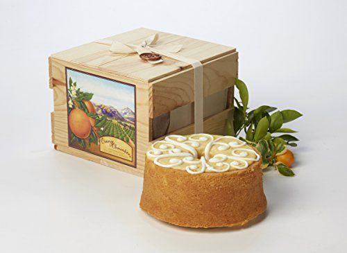 California Orange Cake Gift Crate