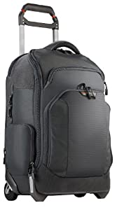 Briggs & Riley BRX Luggage Exchange Rolling Backpack, Slate, One Size