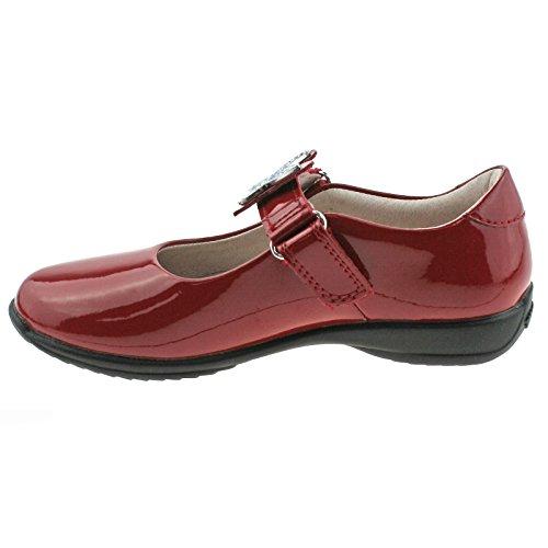 Lelli Shoes Red Patent Kelly UK School 13 32 Fitting DD01 Angel F LK8305 ccrpn