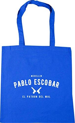 42 Bolsa Medellín Patron nbsp;cm Hippowarehouse Aciano Pablo De Del El X38 Escobar 10 Azul Compras nbsp;litros Playa nbsp;cm Tote Mal 7wfqdzf