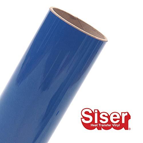 Siser EasyWeed HTV 11.8 x 3ft Roll - Iron on Heat Transfer Vinyl (Royal Blue)