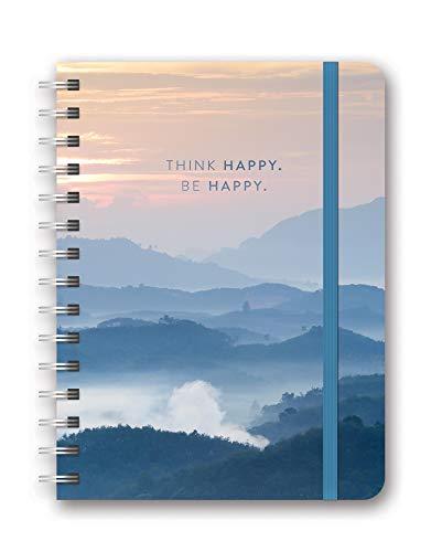 Orange Circle Studio 2020 Deluxe Compact Flexi Planner, August 2019 - December 2020, Be Happy