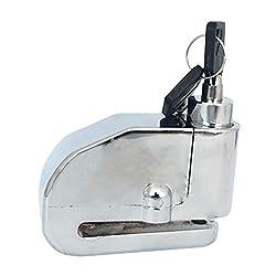 Alarm Lock Electron Disc Brake Lock Anti-theft Lock Electric Safety Warner for Motorcycle Bike