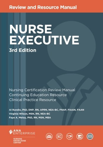 1935213784 - Nurse Executive Review and Resource Manual, 3rd Edition