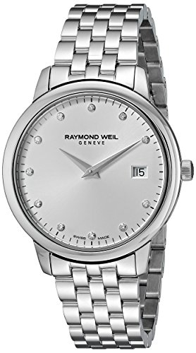 Raymond Weil Women s 5388-ST-65081 Toccata Analog Display Quartz Silver Watch