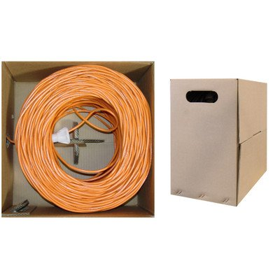 Pullbox 1000ft Bulk Cat5e Orange Ethernet Cable ( 30 PACK ) BY NETCNA by NETCNA (Image #1)