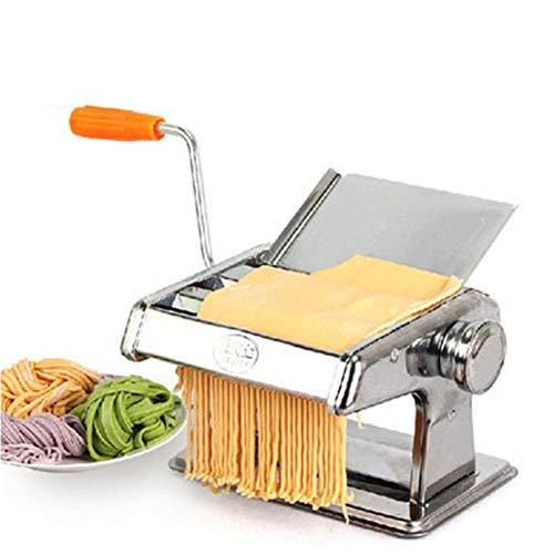 CRZJ Máquinas para Pasta manuales Máquina de prensado Manual multifunción hogar, Fideos de Acero Inoxidable, Piel de Bola...