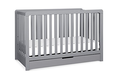 Carter's by DaVinci Colby 4-in-1 Convertible Crib with Trundle Drawer, Grey by Carter's by DaVinci