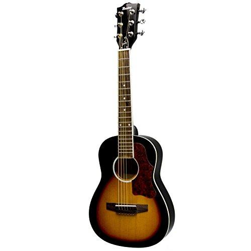 gibson maestro 30 mini acoustic guitar vintage sunburst with gig bag new ebay. Black Bedroom Furniture Sets. Home Design Ideas