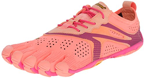 Vibram Women's V Running Shoe, Pink/Red, 40 EU/8.5-9.0 M US B EU