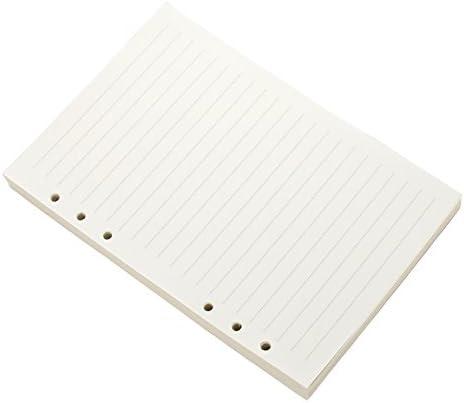 6 حلقات قابلة لإعادة التعبئة من Ancicraft ورق أبيض مبطن سادة ورقة بيضاء لدفتر أوراق أوراق اللف 3 3 4 بوصة 6 3 4 بوصة 5 7 8 25 بوصة A5 5 7 X8 25 Lined White Paper Amazon Ae