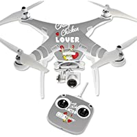 Skin For DJI Phantom 3 Standard – Crazy Chicken Lover | MightySkins Protective, Durable, and Unique Vinyl Decal wrap cover | Easy To Apply, Remove, and Change Styles | Made in the USA
