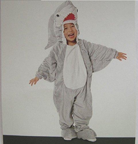 Great White Shark ~ Toddler Costume 12 - 24 (Surfer Shark Costume)