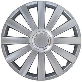 Radkappen Satz 15 Zoll Spyder Silber Nylon Petex 1350 2255 Auto