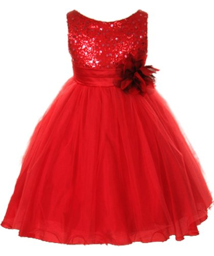 Amazon.com: Kids Dream Girl&39s Tulle Fancy Party Dress with ...