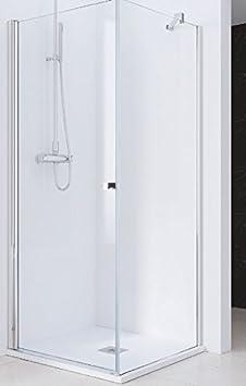 Mampara de ducha fija de unión lateral para serie hada: Amazon.es: Bricolaje y herramientas
