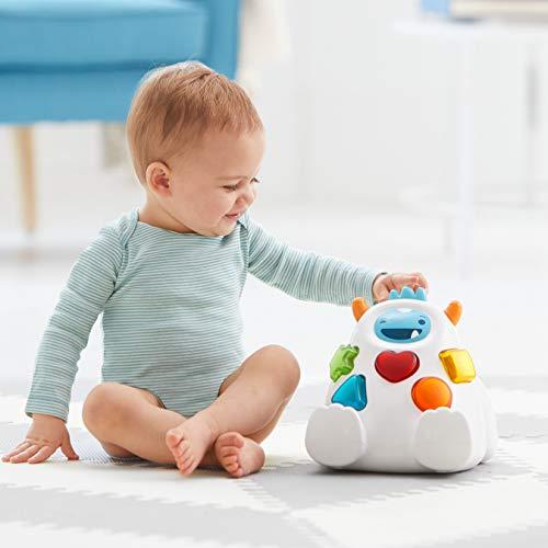 41zbBH1UxNL - Skip Hop Yeti Shape Sorter Explore & More 3-Stage Spinning & Sorting Developmental Learning Toddler Toy
