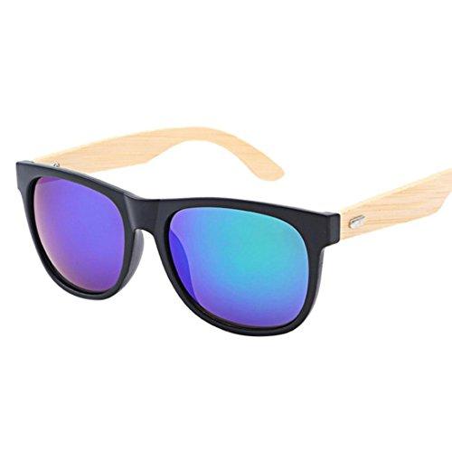 Forthery Sunglass, Fashion Polarized Lens Glasses Unisex Retro Classic Trendy Stylish Sunglasses (F)