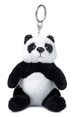46670e6b339306 Mimex WWF00270 - WWF Schlüsselring Panda 10 cm  Amazon.de  Spielzeug
