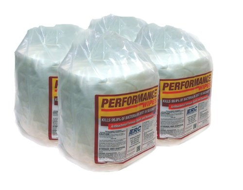 ERC Performance Disinfecting Gym School Spa Wipes 800 Roll 4 Roll (Performance Roll)