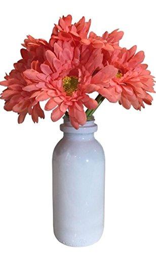 Industrial Rewind Farmhouse Milk Bottle Vase - Inspired by The Vintage Milk Bottle - 7