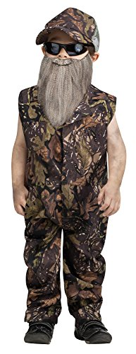 (Fun World Costumes Baby Boy's Duck Hunter Jumpsuit Toddler Costume, Green,)