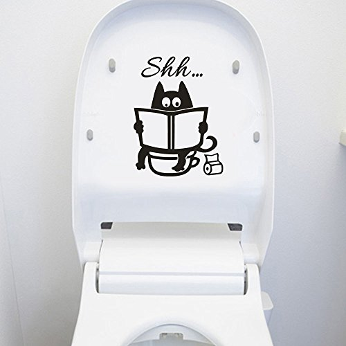 Wall Stickers, E-Scenery Grand Sale Toilet Seat Removable