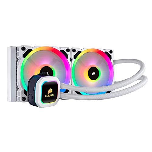 (Corsair Hydro Series, H100i RGB PLATINUM SE, 240mm Radiator, Dual LL120 RGB PWM Fans)