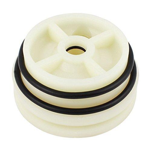 DealMux Reverse Osmosis O Ring Nylon RO Membrane Housing End Cap 4 inch Dia ()