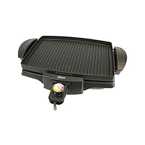 Oster 4767 Non-Stick Indoor Grill, 220-volt, Black