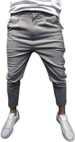 [해외]Mens Slim Fit Casual Gym Pants Classic Jogger Pants Men Slacks Elastic Sweatpants / Mens Slim Fit Casual Gym Pants Classic Jogger Pants Men Slacks Elastic Sweatpants Gray