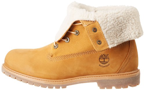 M Fleece Timberland 11 Teddy Fold Down Us Donna Boot Wp Ankle wheat Af4fxvqw