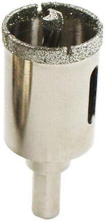 Scie Cloche de Carrelage avec Foret Centreur Outils Douverture de Trou pour Verre C/éramique Janjunsi Foret Diamant Granit Marbre 16mm
