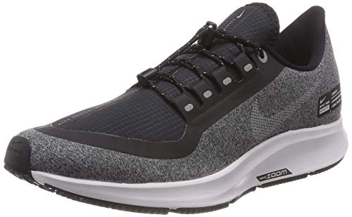 Nike Air Zoom Pegasus 35 Shield Men's Running Shoe Black/Grey (US 10.5)