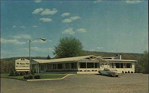 The Captains Table Restaurant Clearfield, Pennsylvania Original Vintage Postcard