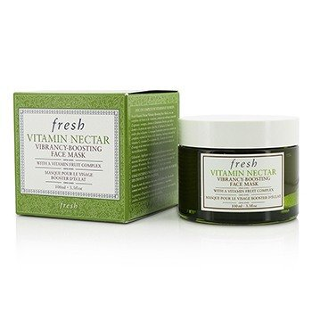 Fresh Vitamin Nectar Vibrancy-Boosting Face Mask, 3.3 Ounce
