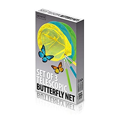 Kovot Set of 3 Telescopic Butterfly Nets - 15